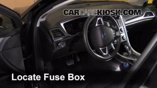 how to add freon in a ford fusion ford fusion se interior fuse box location 2013 2016 ford fusion