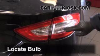 2014 Ford Fusion SE 2.5L 4 Cyl. Lights Brake Light (replace bulb)