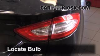 2014 Ford Fusion SE 2.5L 4 Cyl. Lights Tail Light (replace bulb)
