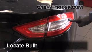 2014 Ford Fusion SE 2.5L 4 Cyl. Lights Turn Signal - Rear (replace bulb)