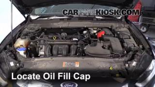 2014 Ford Fusion SE 2.5L 4 Cyl. Oil Add Oil