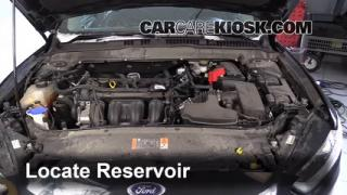 2014 Ford Fusion SE 2.5L 4 Cyl. Windshield Washer Fluid Check Fluid Level