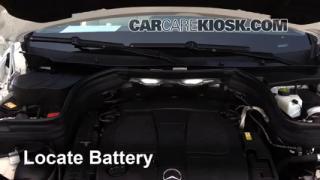 2014 Mercedes Benz GLK350 4Matic 3.5L V6%2FBattery Locate Part 1 interior fuse box location 2010 2015 mercedes benz glk350 2014 glk 350 wiring diagram at reclaimingppi.co