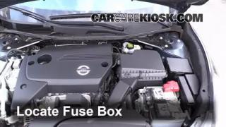 Interior Fuse Box Location: 2013-2015 Nissan Altima - 2014 ...