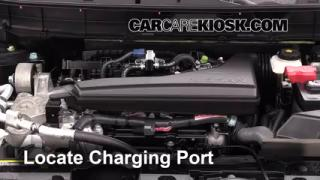 2014 Nissan Rogue SL 2.5L 4 Cyl. Air Conditioner Recharge Freon