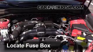 interior fuse box location 2014 2016 subaru forester 2014 replace a fuse 2014 2016 subaru forester