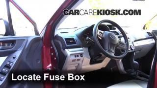 brake light change 2014 2016 subaru forester 2014 subaru interior fuse box location 2014 2016 subaru forester