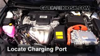 2014 Toyota Avalon Hybrid XLE 2.5L 4 Cyl. Air Conditioner Recharge Freon
