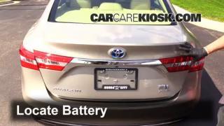 2014 Toyota Avalon Hybrid XLE 2.5L 4 Cyl. Battery Jumpstart