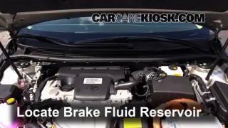 2014 Toyota Avalon Hybrid XLE 2.5L 4 Cyl. Brake Fluid Add Fluid