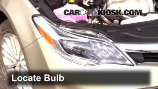 2014 Toyota Avalon Hybrid XLE 2.5L 4 Cyl. Lights Headlight (replace bulb)
