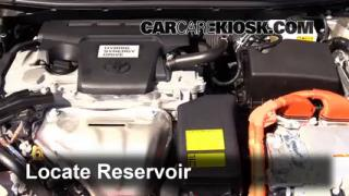 2014 Toyota Avalon Hybrid XLE 2.5L 4 Cyl. Windshield Washer Fluid Check Fluid Level