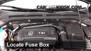 2014 Volkswagen Jetta SE 1.8L 4 Cyl. Turbo Sedan %284 Door%29%2FFuse Engine Part 1 blown fuse check 2011 2016 volkswagen jetta 2014 volkswagen 2014 vw jetta fuse box diagram at crackthecode.co
