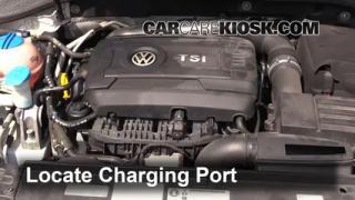 2014 Volkswagen Passat SEL Premium 1.8L 4 Cyl. Sedan (4 Door) Air Conditioner Recharge Freon