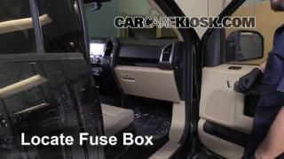 2015 Ford F 150 XLT 3.5L V6 Turbo Crew Cab Pickup%2FFuse Interior Part 1 third brake light bulb change ford f 150 (2015 2016) 2015 ford f 2015 f150 fuse box location at nearapp.co