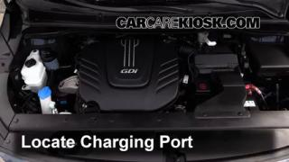 2015 Kia Sedona LX 3.3L V6 Air Conditioner Recharge Freon