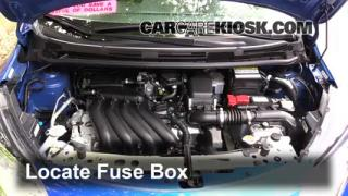 2015 Nissan Versa Note S 1.6L 4 Cyl.%2FFuse Engine Part 1 open hood how to 2014 2016 nissan versa note 2015 nissan versa 2008 nissan versa fuse box location at panicattacktreatment.co