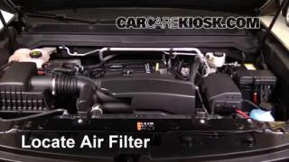 2016 Chevrolet Colorado LT 2.5L 4 Cyl. Crew Cab Pickup Air Filter (Engine) Replace