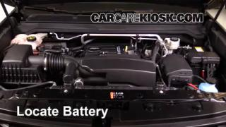 2016 Chevrolet Colorado LT 2.5L 4 Cyl. Crew Cab Pickup%2FBattery Locate Part 1 blown fuse check 2015 2016 chevrolet colorado 2016 chevrolet 2015 chevy colorado fuse box at eliteediting.co